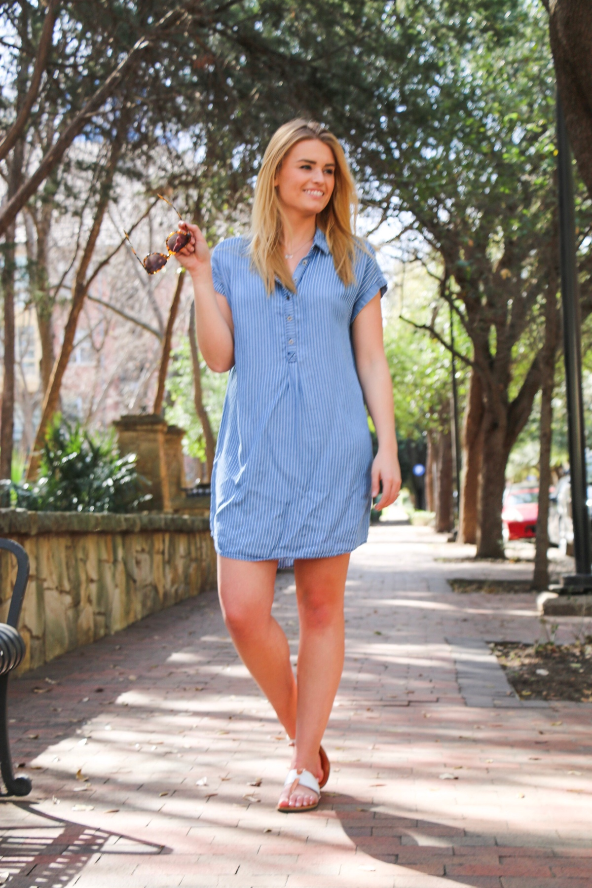 The Easiest Spring Dress